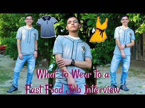 How To Dress For A Fast Food Job Interview | Interview Outfits