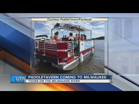 'PaddleTavern' Service Coming To Milwaukee River This Spring