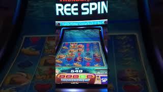 James Bond Thunderball  Slot   MGM Grand Las Vegas - BIG Win