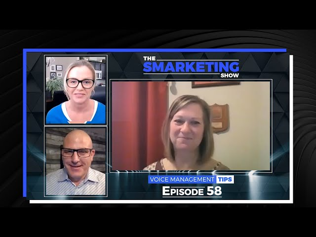 Voice Management Tips with Public Speaking Coach Mindy Williamson - EP 58 - The Smarketing Show