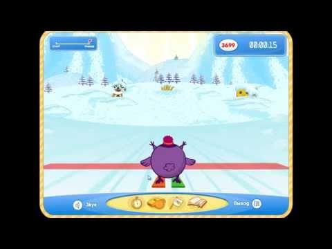 Зимние игры со Смешариками