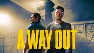 """Escaping From Prison with SideArms! - """"A Way Out"""" Co-Op Gameplay Part 1"""
