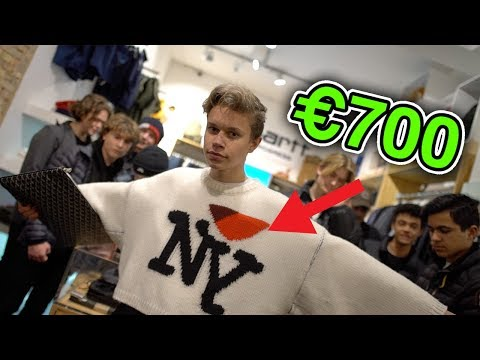How Much is Your Outfit? DENMARK ft. €700 RAF SIMONS JUMPER