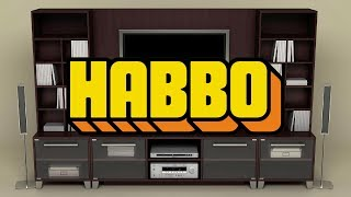 Habbo - Huge Tv Cabinet Design