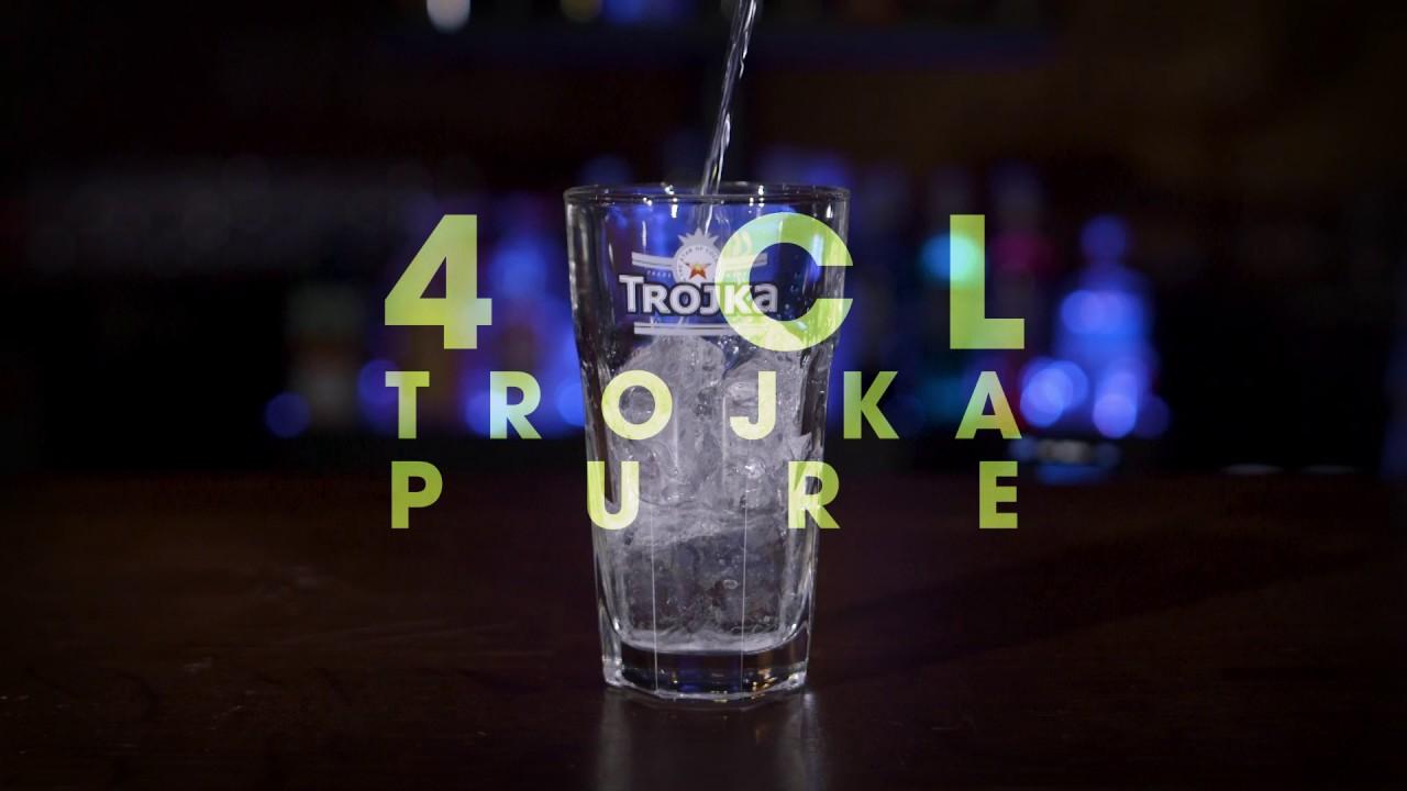 Trojka Vodka Moscow Mule