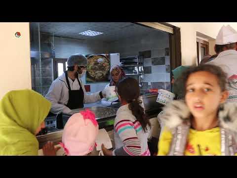تشغيل مطبخ ساعد الخيري في ولاية شانلي اورفا التركية