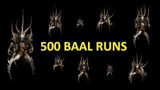 500 Baal runs - D2 SP plugy