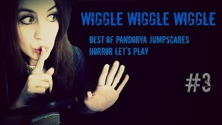 Best of Pandorya JUMPSCARES #3 - Wiggle Wiggle Wiggle 🔴 HORROR Let's Play