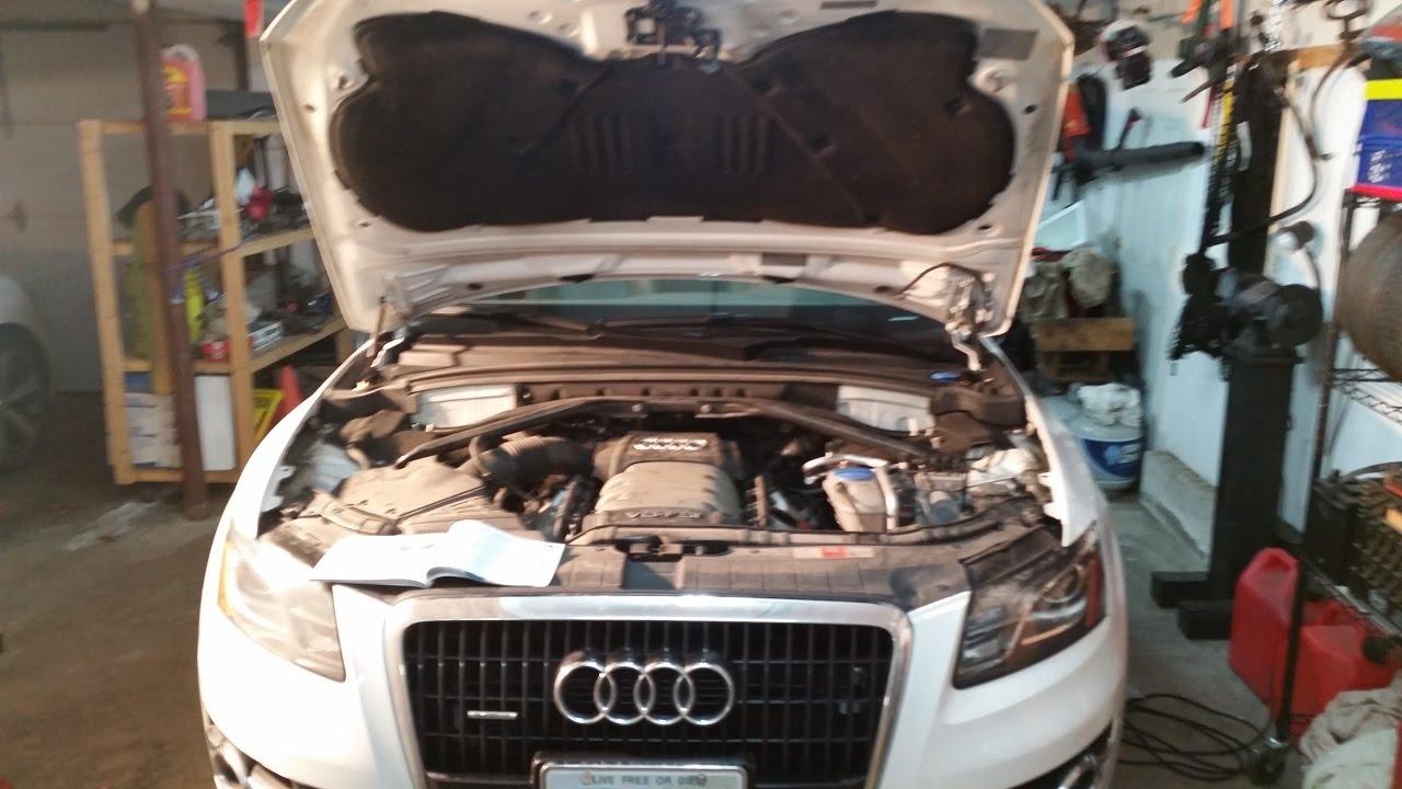 2010 audi q5 oil change youtube for Audi q5 motor oil