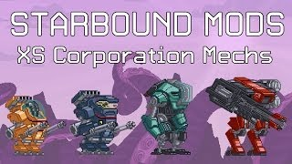 Starbound Mods: XS Corporation Mechs