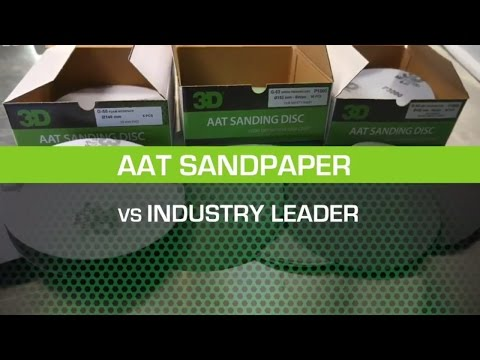 AAT Sandpaper vs Industry Leader