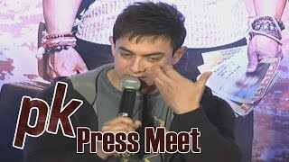 Aamir Khan About Child Sexual Abuse In India - PK Team Press Meet