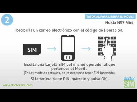Liberar móvil Nokia N97 mini | Desbloquear celular Nokia N97 mini