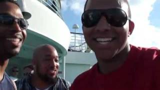 CARLOS A ROGERS & FRIENDS HAVING A BLAST ON THE CRUISE
