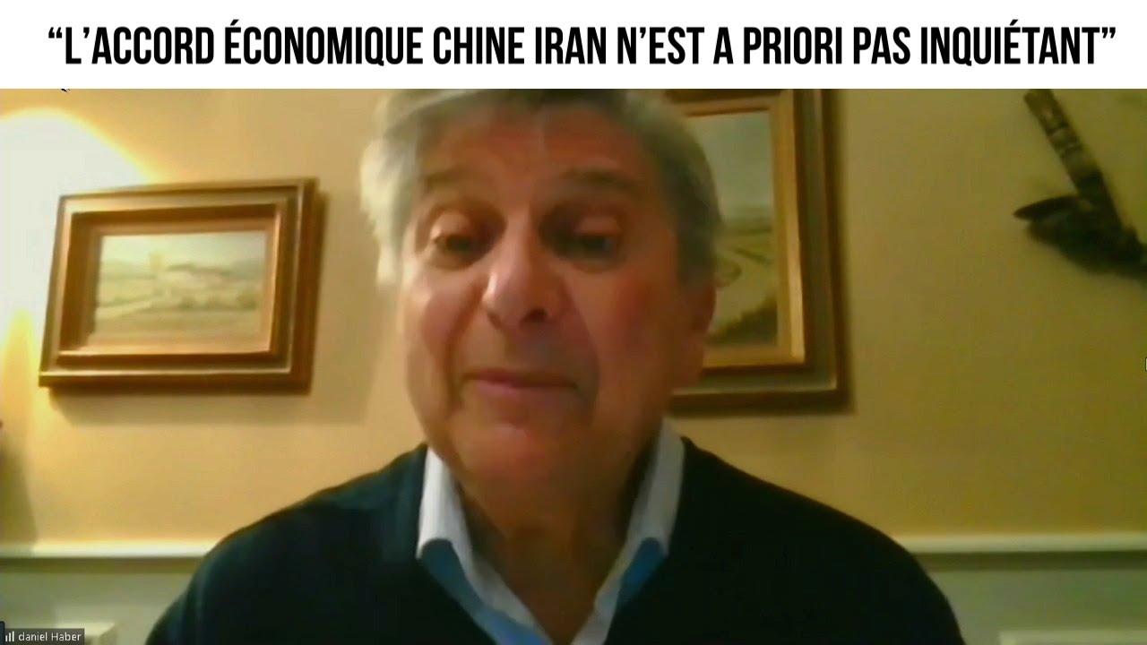 """""""L'accord économique Chine Iran n'est a priori pas inquiétant"""" -  L'invité du 2 avril 2021"""