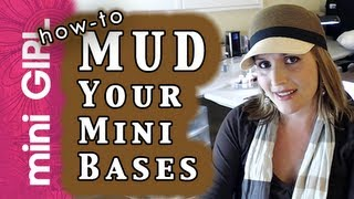 miniGIRL #10: How to Make Mud for Miniatures -Fast Tutorial- Bases, Terrain, Transport-Episode 1