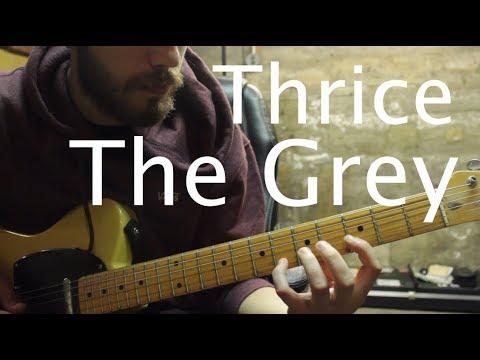 Thrice - The Grey Guitar Tutorial + Music Theory Analysis