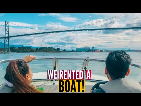 What VANCOUVER Looks Like From A BOAT // Nat And Max