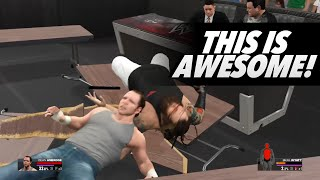 Wwe 2k15 Tlc 2014 Dean Ambrose Vs Bray Wyatt | Epic Match Highlights!