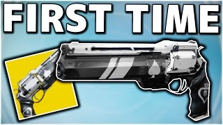 Destiny - MY FIRST TIME USING ACE OF SPADES IN CRUCIBLE! (Destiny ACE OF SPADES EXOTIC GAMEPLAY)