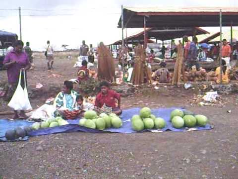 Papua New Guinea. Lae. UMI Local market #1