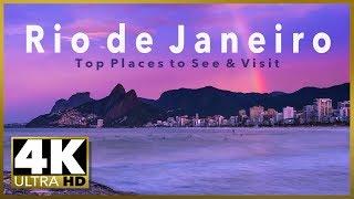 RIO DE JANEIRO stock footage - Top Tourist Destinations, 4K Ultra HD