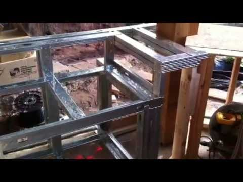 Building An Outdoor Kitchen How To Build With Steel
