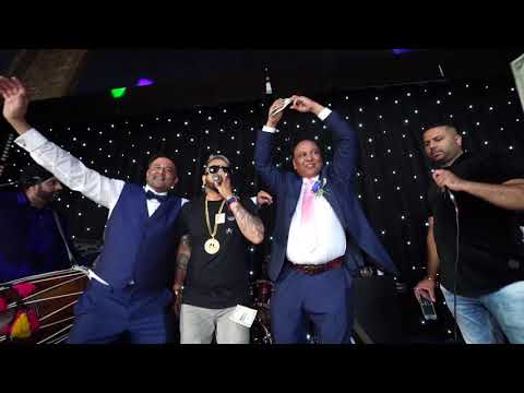 Jazzy B At A Wedding In The UK || Mandy Dhillon || Vid-Ego