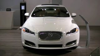 2012 Jaguar XF Exterior and Interior at 2012 Montreal Auto Show