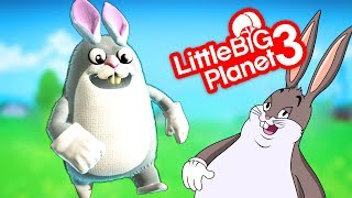 The Big Chungus Game - LittleBigPlanet 3 PS4 Gameplay