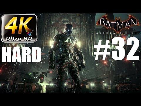Batman: Arkham Knight - 4K HARD Walkthrough - Part 32 - Man-Bat / Firefly Complete