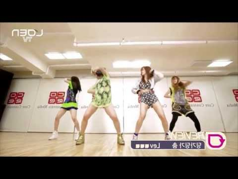 T-ara N4 - Countryside Life (Mirrored Dance Practice) (short)