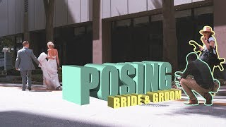 How to Pose the Bride & Groom for Wedding Films ft Photographers (Behind The Scenes)