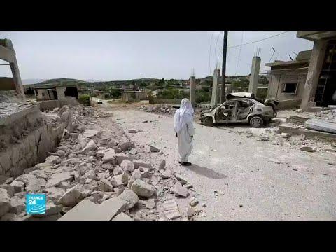 قتلى في قرية كفرعويد جراء استهدافها بطائرات النظام السوري بريف إدلب الجنوبي  - نشر قبل 25 دقيقة