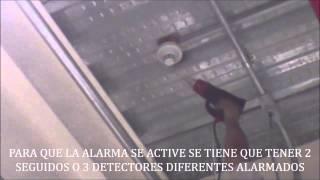 ACTIVACION DETECTOR POR CALOR