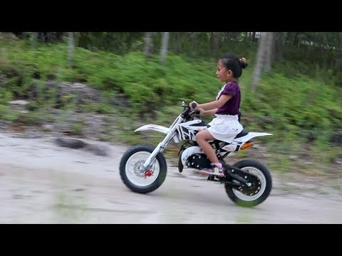 Shinta Naik Sepeda Motor Matic Mini Trail  45 CC - Mini motorcycle racing kids