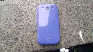 토리토그 유니비드 갤럭시S3 색상변화 케이스 - 블루