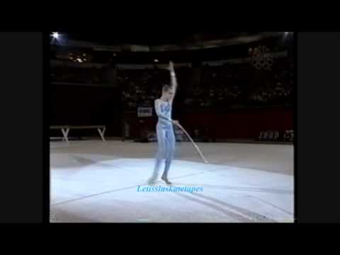 Jessica Howard - 2000 Tour of Gymnastics Champions - Hoop
