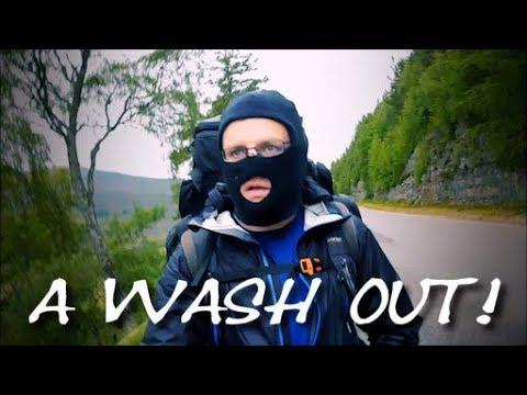 Braemar to Pitlochry via Blair Atholl - Part 1 (A Washout)