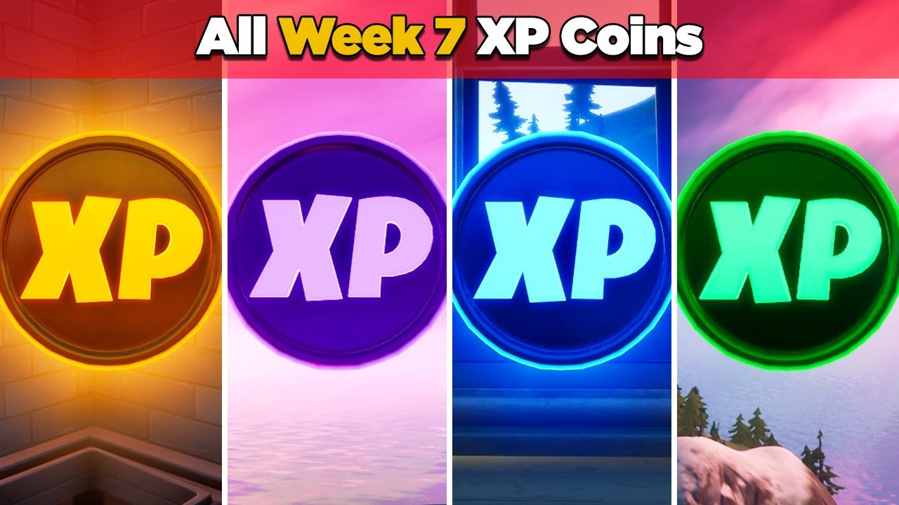 Download All XP Coins Location Guide WEEK 7 (Fortnite Chapter 2 Season 4)