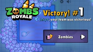 NEW ZOMBIES GAME MODE VICTORY - ZombsRoyale.io