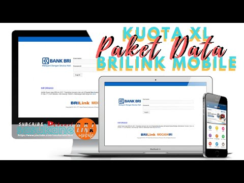 Cara Beli Paket Data XL via BRILink Mobile