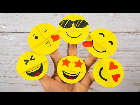Easy Emoji DIY Bookmark Corners | Paper Craft Ideas | DIY Craft for Kids