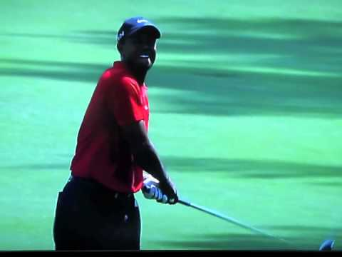 Tiger Woods Eagle- Masters 2011