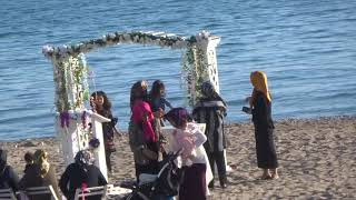 Турецкая свадьба Свадебная церемония у моря