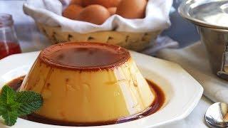 Flan de huevo fácil y rápido (SÓLO 3 INGREDIENTES)