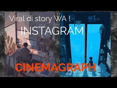 Cara Membuat CINEMAGRAM/CINEMAGRAPH Seperti Di Instagram !!