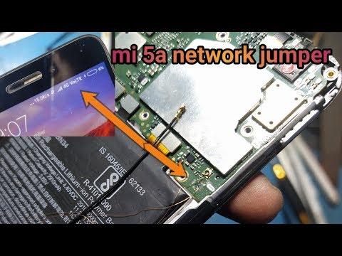 mi 5a network problem no service  mi network jumper