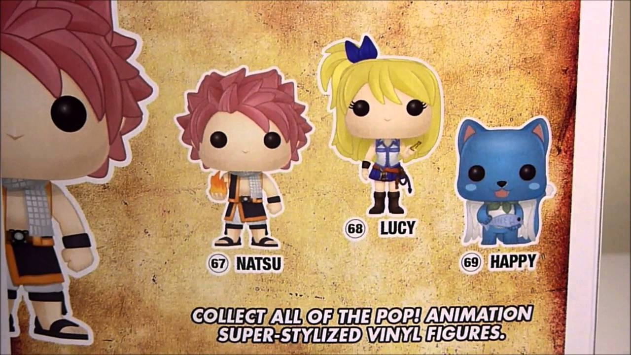 Fairy Tail Natsu Dragneel Best of Anime Series 1 Funko Mystery Mini Figure