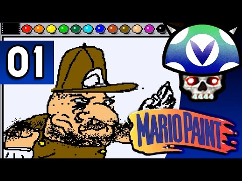 [Vinesauce] Joel - Mario Paint ( Part 1 )